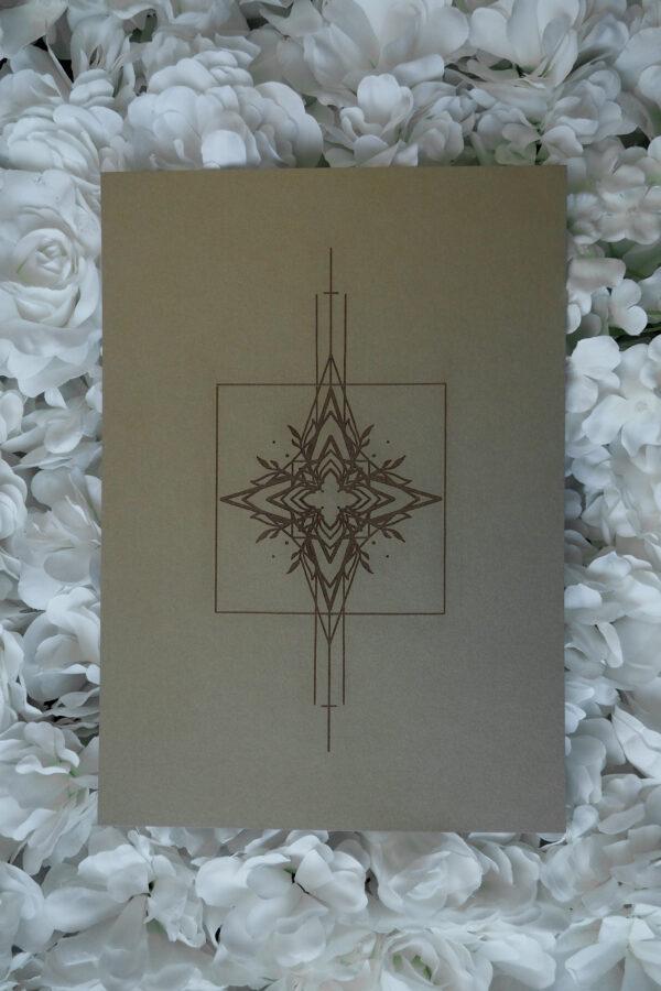 """Ornament I"" Gold by Maren Römer"